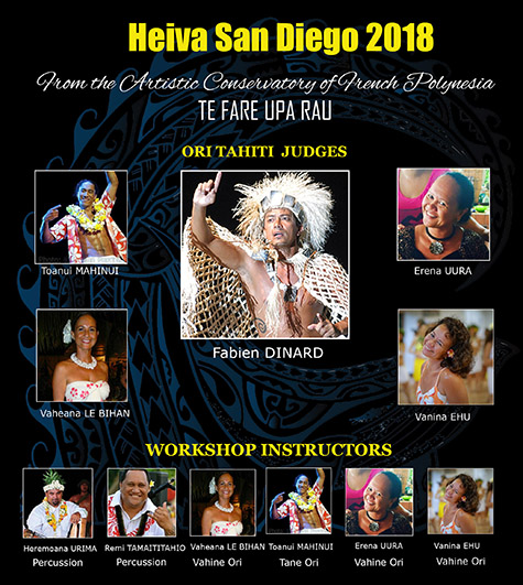 Heiva San Diego Dance
