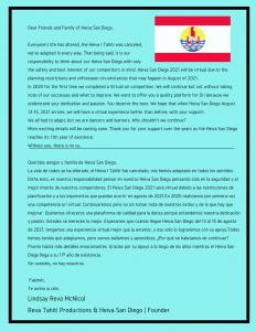 Heiva San Diego Virtual HSD 2021