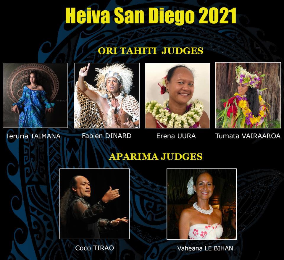 Heiva 2021 Judges