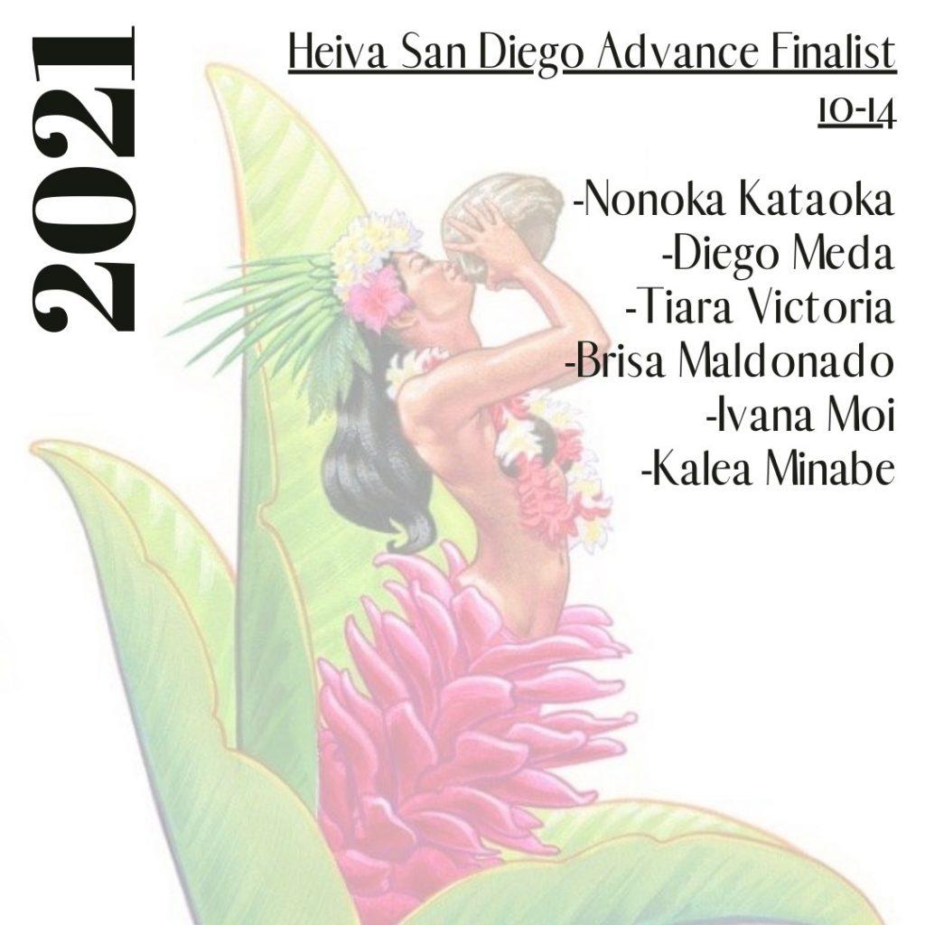 Heiva San Diego Finalists - Advanced