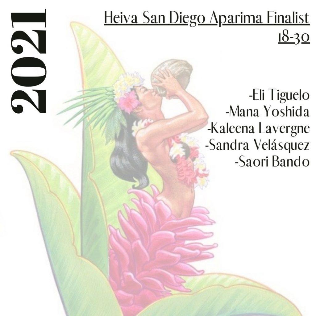 Heiva San Diego Finalists